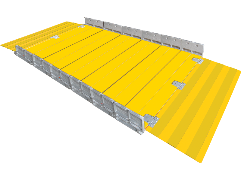 Boardwalk Temporary Pedestrian Modular Ramp